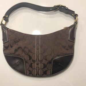 Chocolate Brown Coach Purse